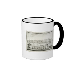 Imperial Winter Palace St Petersburg litho Mugs