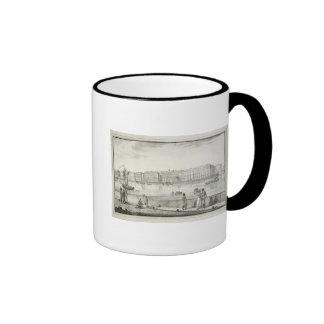 Imperial Winter Palace, St. Petersburg (litho) Ringer Mug