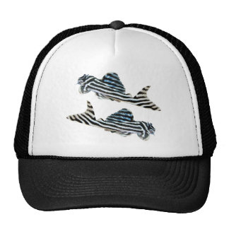"""Imperial Zebra Pleco"" 優良製品 トラッカー帽子"