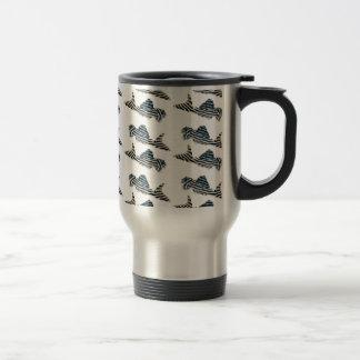Imperial Zebra Pleco Travel Mug