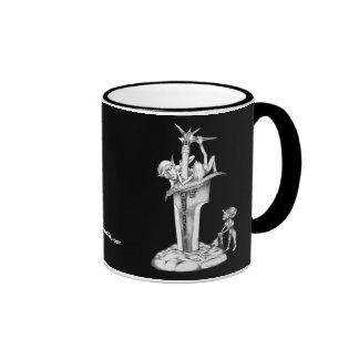 Impish Fun Ringer Mug