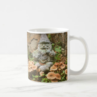 Impish Mossy Gnome and toadstools Coffee Mug