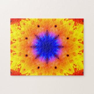 Implosion Mandala Jigsaw Puzzle