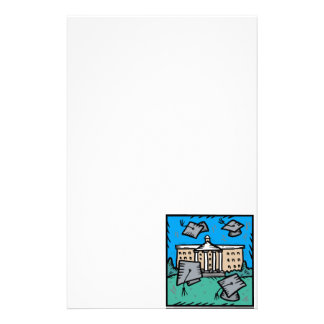 Important Graduation Personalized Stationery