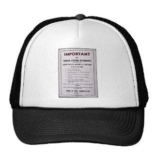 Important Trucker Hats