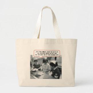 Important Nurse - Adorable Hat Jumbo Tote Bag