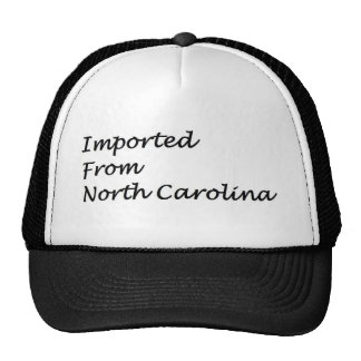 Imported From North Carolian Trucker Hats