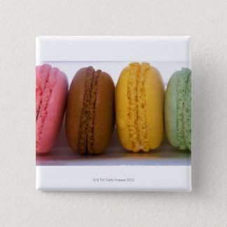Imported gourmet French macarons (macaroons) 15 Cm Square Badge