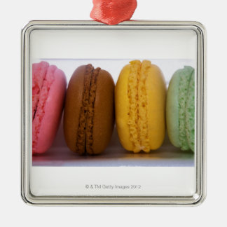 Imported gourmet French macarons (macaroons) Christmas Ornament
