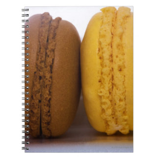 Imported gourmet French macarons (macaroons) Notebook