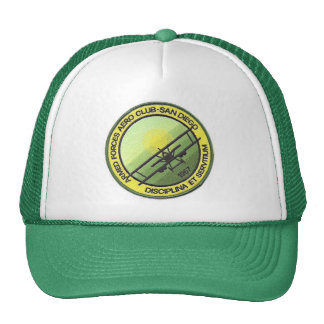 Imported Trucker cap - Flying club of San Diego