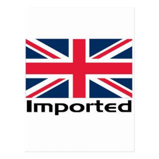 Imported UK Flag Postcard