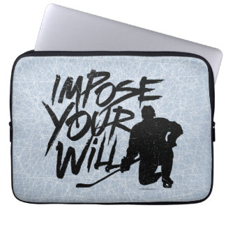 Impose Your Will (Hockey) Laptop Computer Sleeve