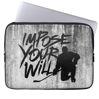 Impose Your Will Laptop Sleeves