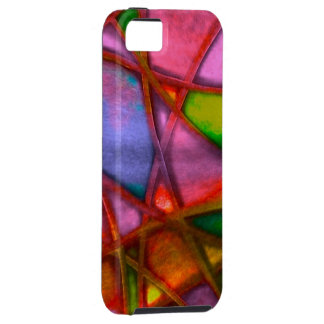 imposing abstract case for the iPhone 5