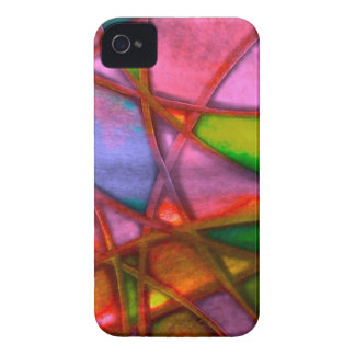imposing abstract red iPhone 4 Case-Mate case