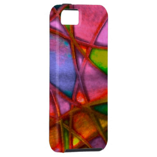 imposing abstract red iPhone 5 case