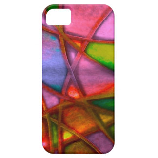 imposing abstract red iPhone 5 cases
