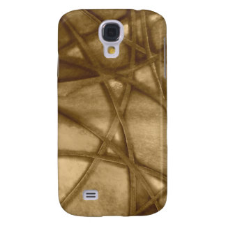 imposing abstract sepia samsung galaxy s4 cover