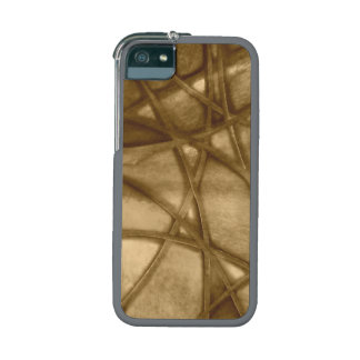 imposing abstract sepia iPhone 5/5S cover