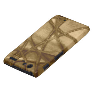 imposing abstract sepia droid RAZR cases