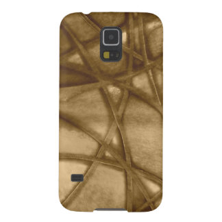 imposing abstract sepia galaxy s5 cover