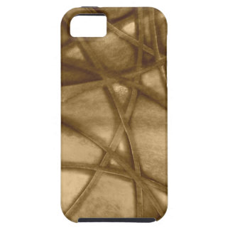 imposing abstract sepia iPhone 5 cases