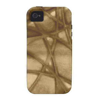 imposing abstract sepia iPhone 4/4S covers