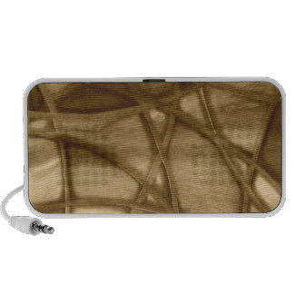 imposing abstract sepia notebook speakers