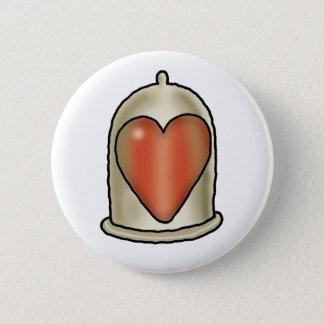 Impossible Love - Love Condom 6 Cm Round Badge