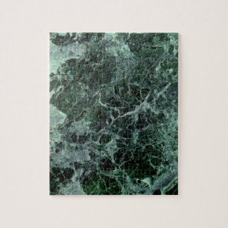 Impossible marble jigsaw puzzle