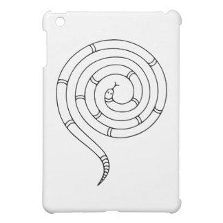 Impossible Snake Optical Illusion iPad Mini Covers