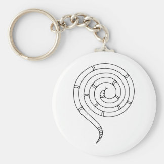 Impossible Snake Optical Illusion Key Chains