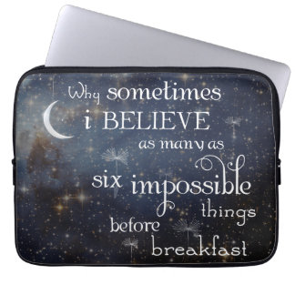 Impossible Things Stars Laptop Sleeve