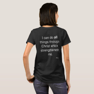 Impossible? Women's T-shirt with Phil. 4:13