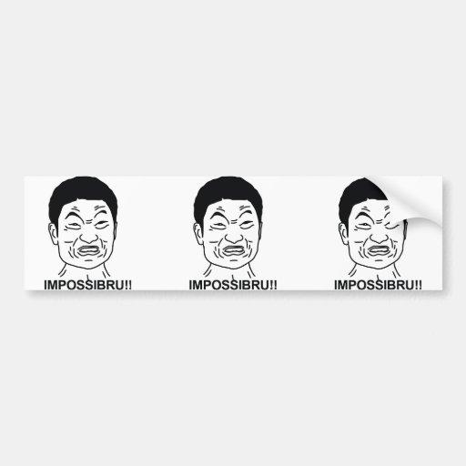 Impossibru Bumper Sticker