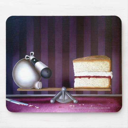Impossimal© - 'A Balanced Diet' Mouse Mat