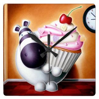 Impossimal© - 'Cake-O-Clock!' Cake-O-Clock, Clock! Wall Clocks