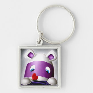 Impossimal© - 'I Love You Too!' Keychain