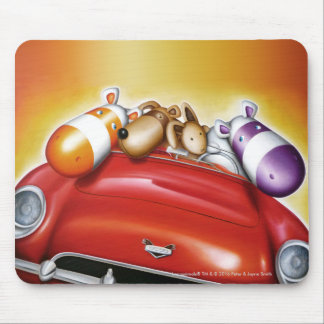 Impossimal© - 'This Is How We Roll' Mouse Mat