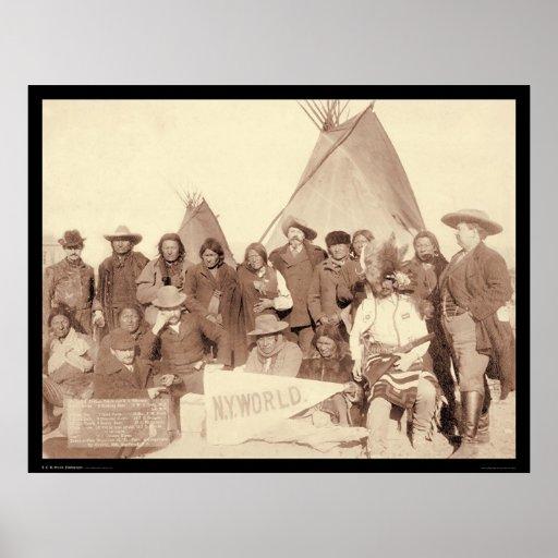 Imposter & Lakota Indians SD 1891 Poster