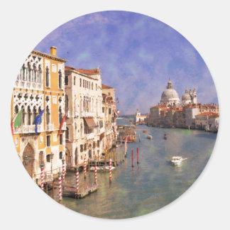 ImpressiItaly Venice Canal Grande Sticker