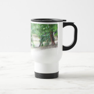 Impression At Cahal Pech Poster Stainless Steel Travel Mug
