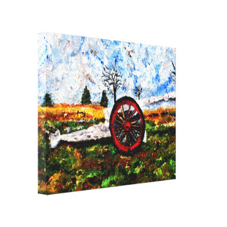 Impression of Armed and Dangerous Stretched Canvas Print