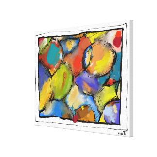 """Impression on fabric, small size, """"Concealments Canvas Print"""