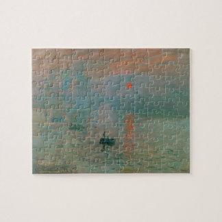 Impression, Soleil Levant by Claude Monet 1872 Puzzle
