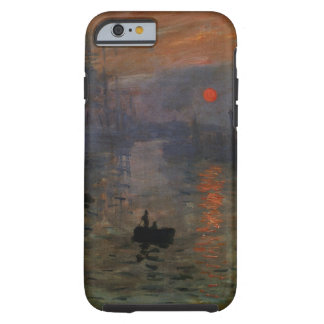 Impression Sunrise by Claude Monet, Vintage Art Tough iPhone 6 Case