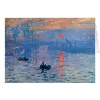 Impression Sunrise Card