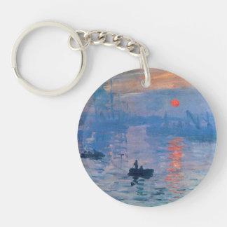 Impression Sunrise Double-Sided Round Acrylic Key Ring