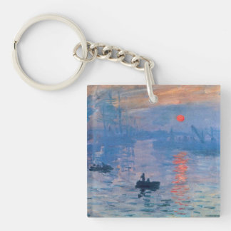 Impression Sunrise Double-Sided Square Acrylic Key Ring